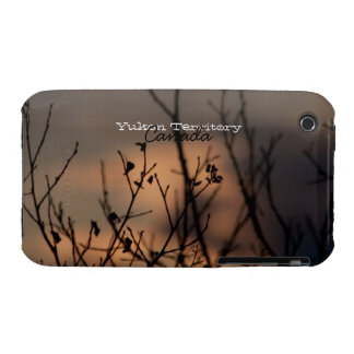 Sunset in the Background; Yukon Territory Souvenir iPhone 3 Case