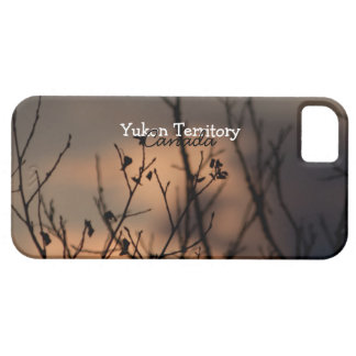 Sunset in the Background; Yukon Territory Souvenir iPhone SE/5/5s Case