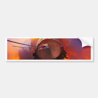 Sunset in the Caribbean Bumper Sticker