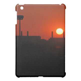 Sunset in the city cover for the iPad mini