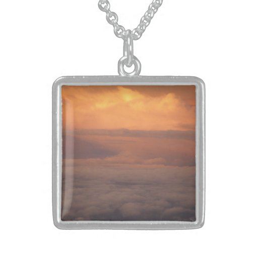 Sunset In The Clouds Personalized Necklace