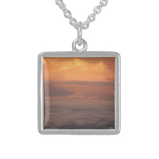 Sunset In The Clouds Custom Necklace