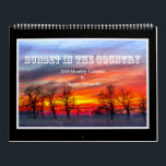 """Sunset In The Country 2019 Calendar - Tom Minutolo<br><div class=""""desc"""">I love capturing sunsets in the beautiful rolling hills and farmland in Southwest Ohio. I hope that you enjoy these images</div>"""