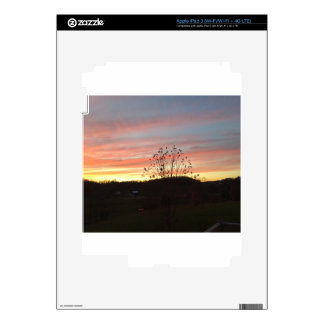 Sunset in the country skins for iPad 3