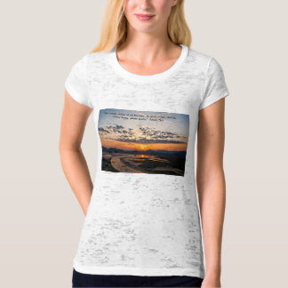 Sunset in the East. Tee Shirt