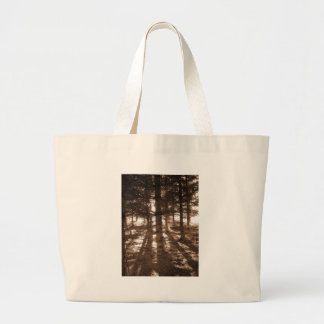 Sunset In The Forest Jumbo Tote Bag