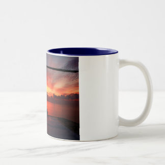 sunset in the gulf of mexico mugs