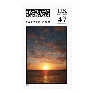 Sunset in The Keys Postage Stamp
