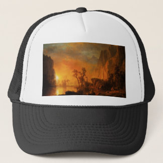 Sunset in the Rockies Hat