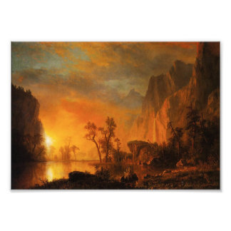 Sunset in the Rockies Photo Print
