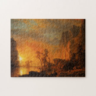 Sunset in the Rockies Puzzle