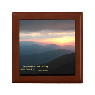 Sunset in the Smokies: Mtns are calling / Muir Gift Boxes