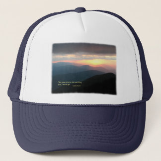 Sunset in the Smokies: Mtns are calling / Muir Trucker Hat