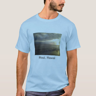 Sunset in the town of Lahaina Maui, Hawaii T-Shirt