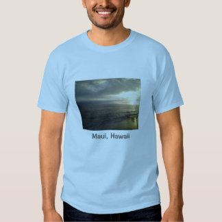 Sunset in the town of Lahaina Maui, Hawaii Tee Shirts