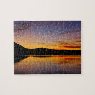 Sunset in the West Photo Difficult Puzzle! Jigsaw Puzzle
