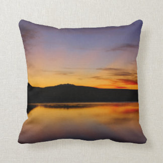 Sunset in the West Photo Pillow