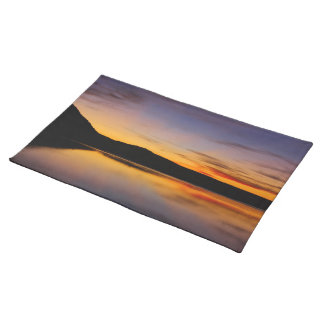 Sunset in the West Photo Table Setting Cloth Placemat