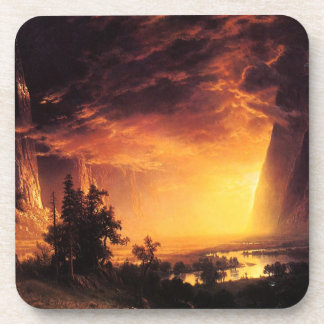 Sunset in the Yosemite Valley Coasters