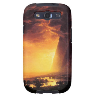 Sunset in the Yosemite Valley Galaxy S3 Case