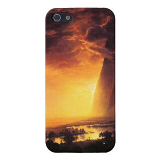 Sunset in the Yosemite Valley iPhone 5 Case