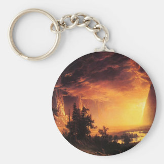 Sunset in the Yosemite Valley Key Chain
