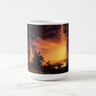 Sunset in the Yosemite Valley Mug