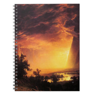 Sunset in the Yosemite Valley Notebook