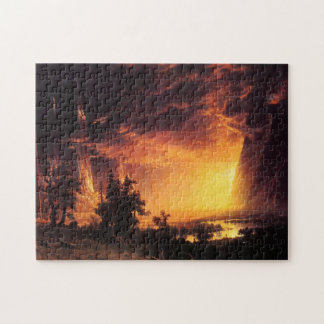 Sunset in the Yosemite Valley Puzzle