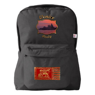 Sunset in Venice Backpack