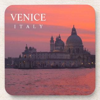 Sunset in Venice Beverage Coaster