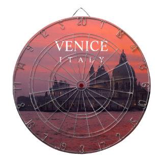 Sunset in Venice Dart Board