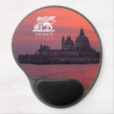 Sunset in Venice Gel Mouse Pad