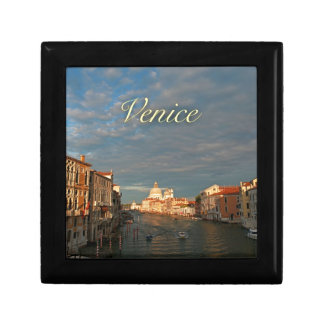 Sunset in Venice Italy Jewelry Boxes