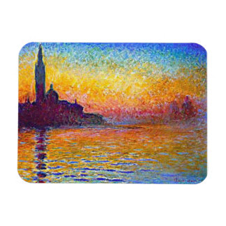 Sunset in Venice, Italy Magnet