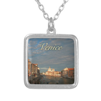 Sunset in Venice Italy Pendant