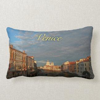 Sunset in Venice Italy - Romantic Throw Pillow