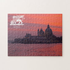 Sunset in Venice Jigsaw Puzzle