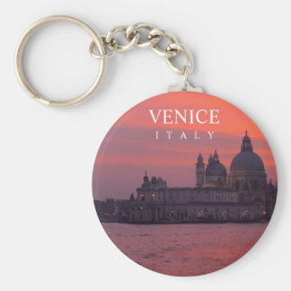 Sunset in Venice Keychain