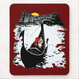Sunset In Venice Mouse Pad