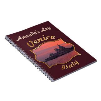 Sunset in Venice Notebook