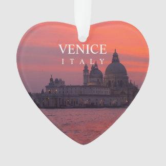 Sunset in Venice Ornament