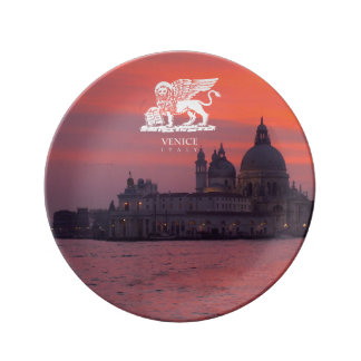 Sunset in Venice Plate