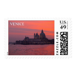 Sunset in Venice Postage