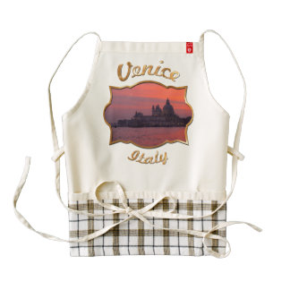 Sunset in Venice Zazzle HEART Apron