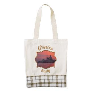 Sunset in Venice Zazzle HEART Tote Bag