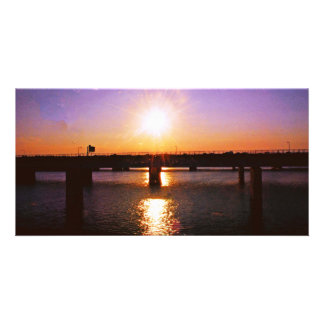 Sunset in Virginia Card