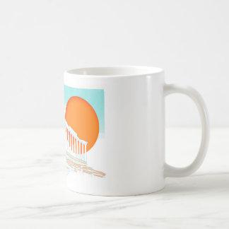 sunset inside Parthenon Coffee Mug