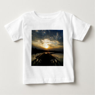 Sunset Into The Jetty Baby T-Shirt
