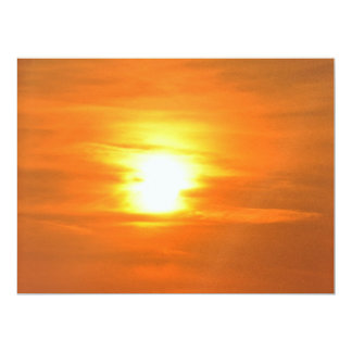 "Sunset 6.5"" X 8.75"" Invitation Card"